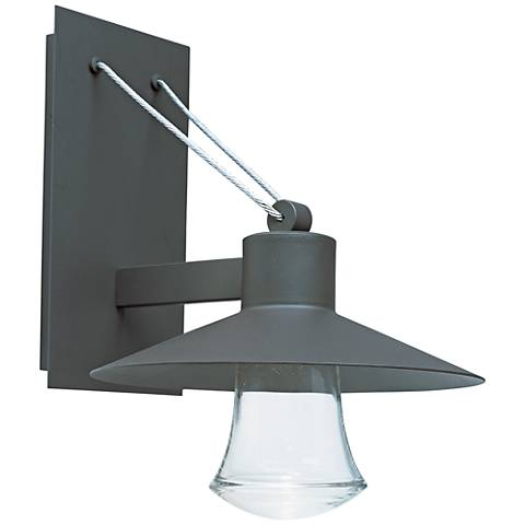 "Civic 17"" High Architectural Bronze LED Outdoor Wall Light"