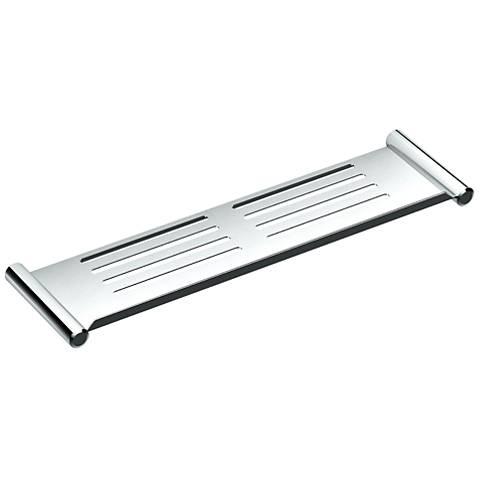 """Gatco Elegant Chrome 19"""" Wide Shower Shelf"""