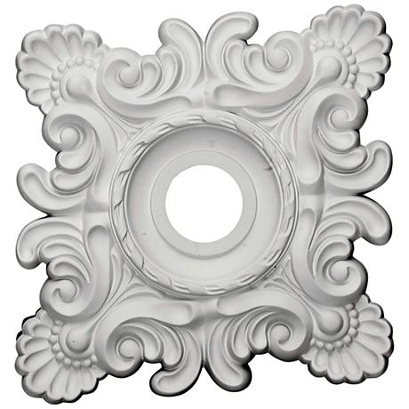 Crawley 18 Quot Wide Primed Square Ceiling Medallion 9t319