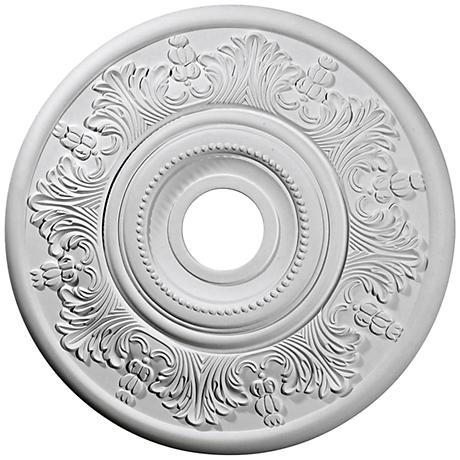 "Vienna 20"" Wide Primed Round Ceiling Medallion"