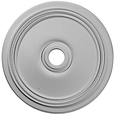 "Diane 24"" Wide Large Primed Round Ceiling Medallion"
