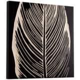 "Cyan Design Pompano Black 23 3/4"" Square Wood Wall Art"
