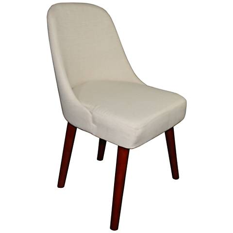 Darla Cream Accent Chair