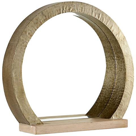 "Rising Radius Silver 27 1/4""x24 1/2"" Small Wall Mirror"