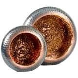Shumway Hammered Copper 2-Piece Votive Candle Holder Set
