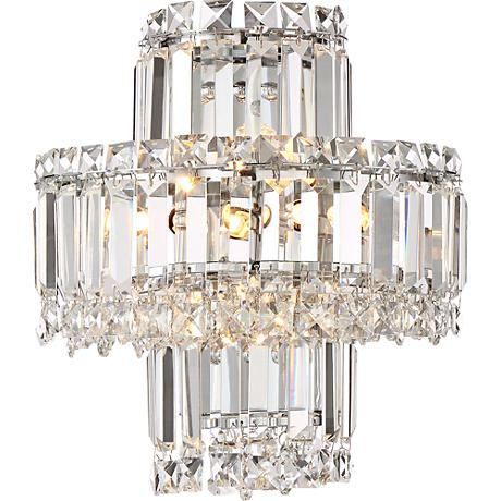 Lamps Plus Crystal Wall Sconce : Magnificence Chrome 12 1/2