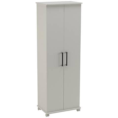 Innovative Catalonia 1.0 White 2-Door Mobile Show Closet