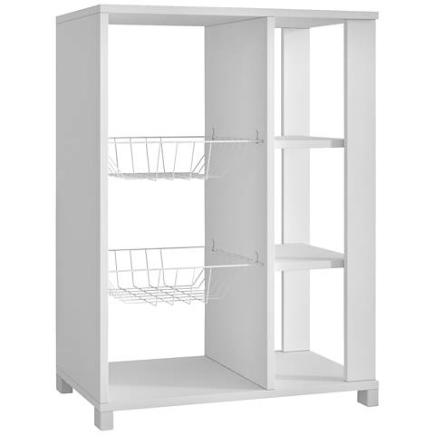 Useful Pasir White Pantry Rack