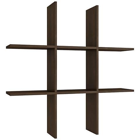 Decorative Taranaki Tobacco Tic-Tac Shelf