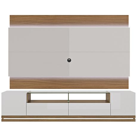 Vanderbilt TV Stand and Lincoln 2.2 TV Panel in Nature