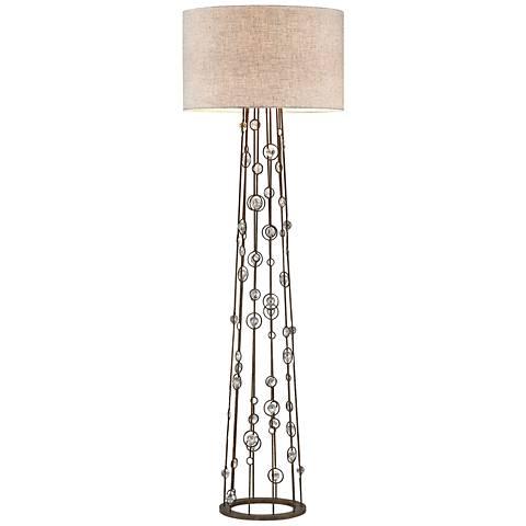 Dimond Boheme Burnley Bronze Metal Floor Lamp