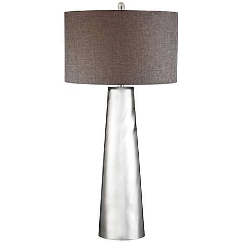 Jasmine Tapered Cylinder Mercury Glass Table Lamp