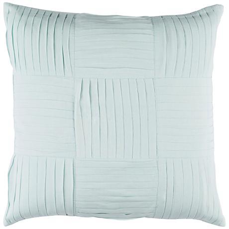 "Surya Gilmore Green 18"" Square Throw Pillow"