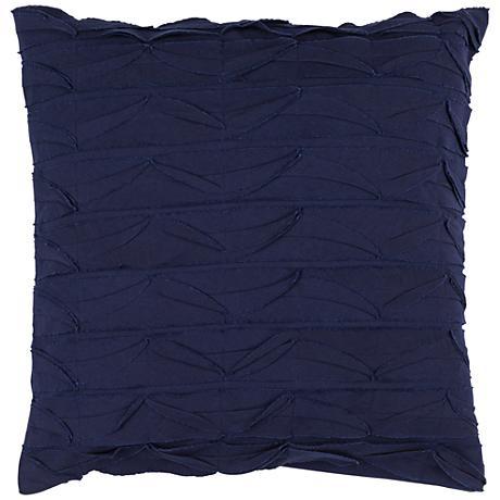 """Surya Huckaby Purple 18"""" Square Throw Pillow"""