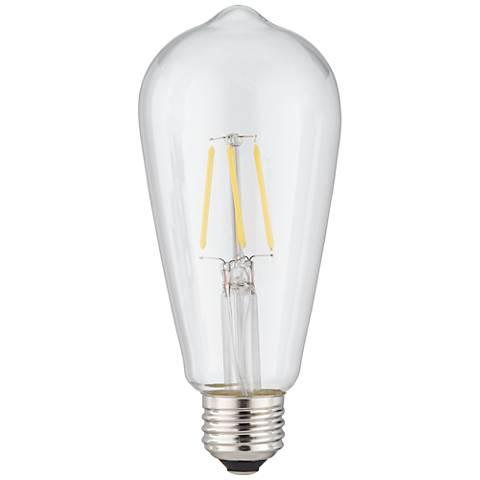 4 Watt Dimmable ST64 Filament E26 Base LED Light Bulb