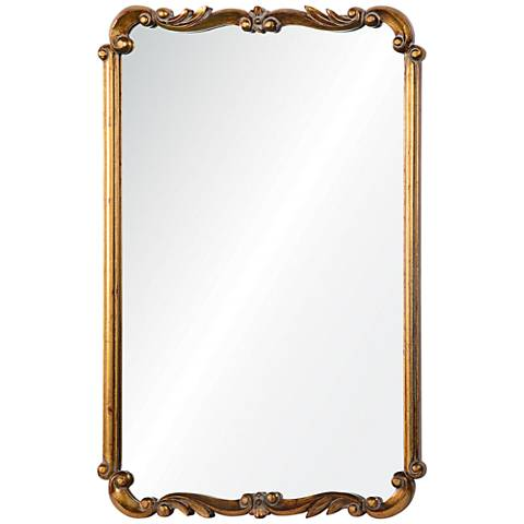 "Toulouse Gold 24 1/2"" x 36"" Rectangle Wall Mirror"