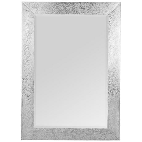 """Keegan Zinc 30"""" x 42"""" Rectangle Wall Mirror"""