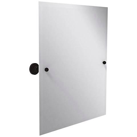 Seaton Bronze 1x 10x Dual Magnification Vanity Mirror