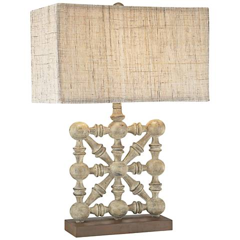Dimond Biscay Castlebawn Stone Old World Table Lamp
