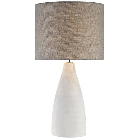 Dimond Rockport Tall Polished Concrete Table Lamp