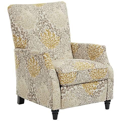Leena Citron Floral Recliner Chair