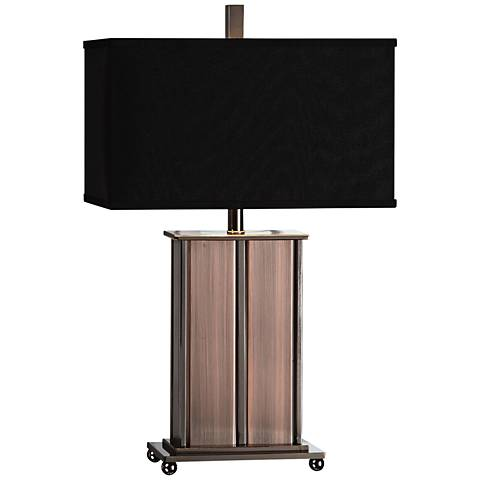 Uttermost Seyburn Antique Copper Plated-Iron Table Lamp