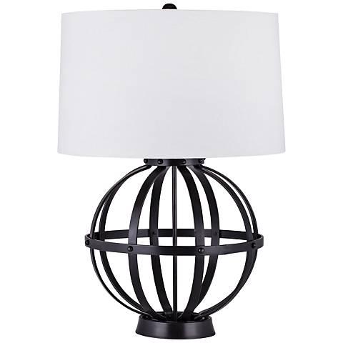 Dimond Feliz Iron Wire Sphere Oil Rubbed Bronze Table Lamp