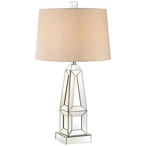 Dimond Modern Obelisk Glass Table Lamp