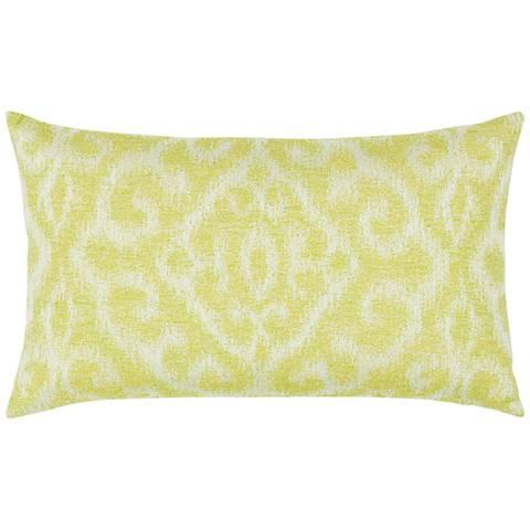 "Elaine Smith Bali Citrine 20""x12"" Indoor-Outdoor Pillow"