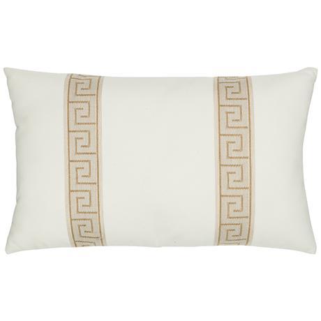 """Elaine Smith Balkan Key 20""""x12"""" Indoor-Outdoor Pillow"""