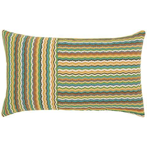 """Elaine Smith Rosita 20""""x12"""" Lumbar Throw Pillow"""