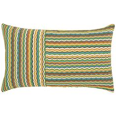 "Elaine Smith Rosita 20""x12"" Lumbar Indoor-Outdoor Pillow"