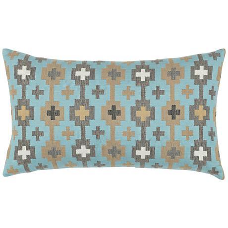 """Canyon Cross Sky 20""""x12"""" Lumbar Indoor-Outdoor Pillow"""