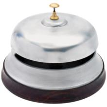 Maison Home Deck Hand Polished Silver Bell