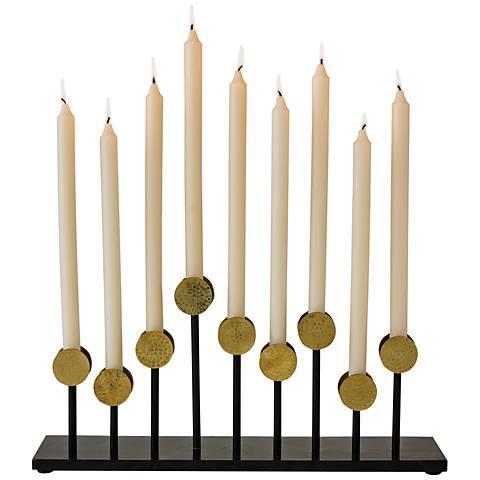Crown Gold Candelabra Taper Candle Holder