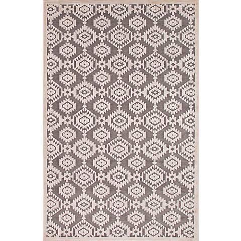 Jaipur Fables RUG121768 2'x3' Gray Modern Tribal Area Rug
