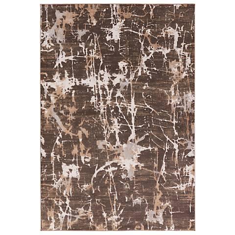 Jaipur Masonic RUG132851 2'x3' Chocolate Brown Abstract Area Rug