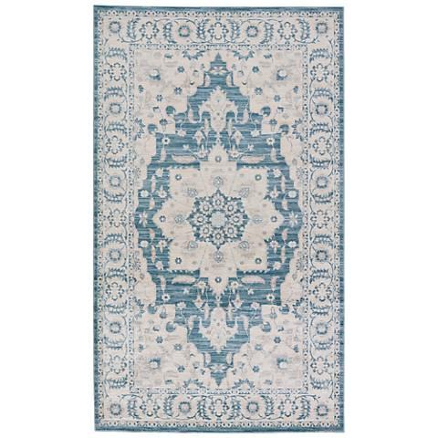 Jaipur Nysea RUG133212 2'x3' Blue Classic Oriental Area Rug