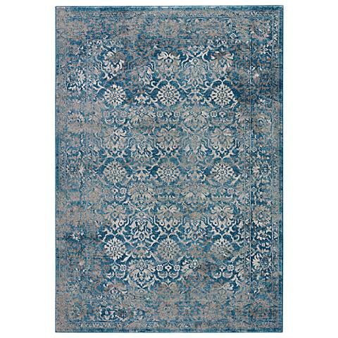 Jaipur Terracotta RUG133449 2'x3' Blue Vintage-Modern Area Rug
