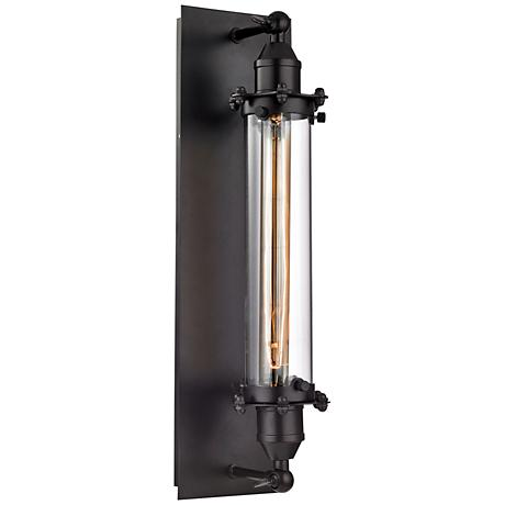 Fulton 19 High Oil Rubbed Bronze 1 Light Wall Sconce
