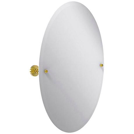"Waverly Place Brass 21 3/4""x29"" Vanity Mirror"