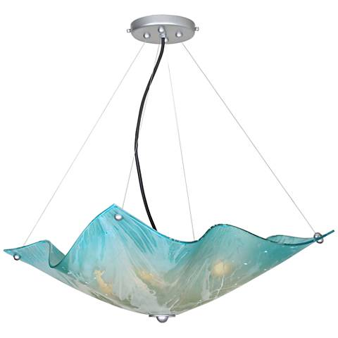 "Van Teal Private Events 19""W Polished Chrome Pendant Light"