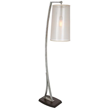 Van Teal Activity Weathered Silver Floor Lamp