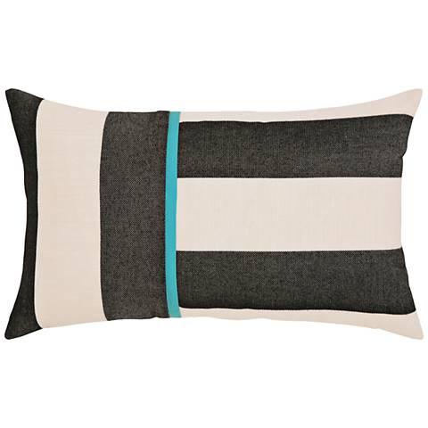 "Elaine Smith Harmony 20""x12"" Lumbar Indoor-Outdoor Pillow"