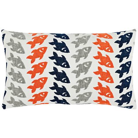 """Oceana Marine 20""""x12"""" Lumbar Indoor-Outdoor Pillow"""