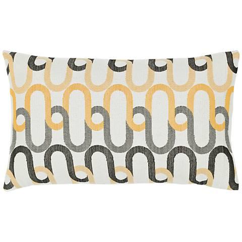 """Shadow Link 20""""x12"""" Lumbar Indoor-Outdoor Pillow"""