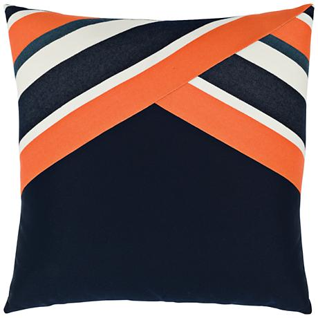 """Elaine Smith Riviera Bliss 19"""" Square Indoor-Outdoor Pillow"""