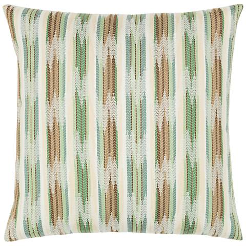 """Elaine Smith Function Layer 20"""" Square Indoor-Outdoor Pillow"""
