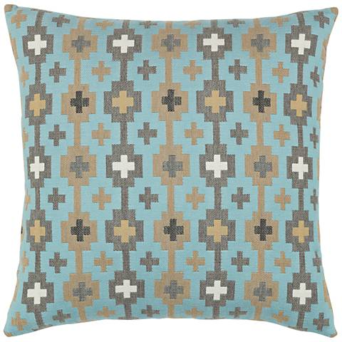 """Canyon Cross Sky 20"""" Square Indoor-Outdoor Pillow"""