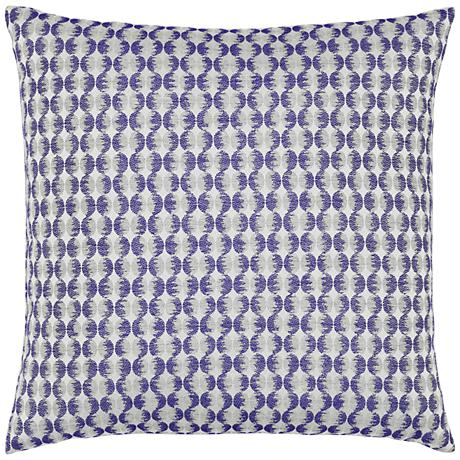 """Elaine Smith Optical Oval 20"""" Square Indoor-Outdoor Pillow"""